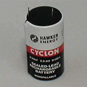 Cyclon Battery 2V 2.5AH